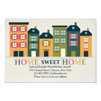 家の甘い家の移動発表 8.9 X 12.7 インビテーションカード
