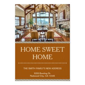 家の甘い家|の移動発表 カード