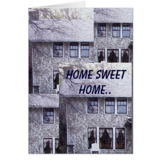 家の甘い家。 グリーティングカード