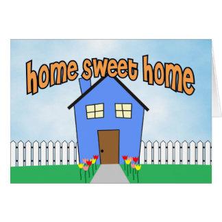 家の甘い家 グリーティングカード