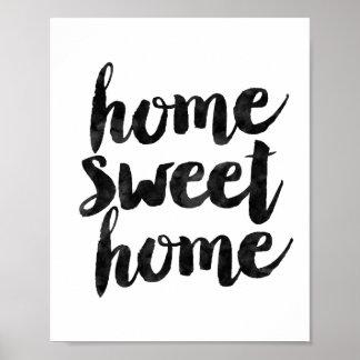 家の甘い家 ポスター