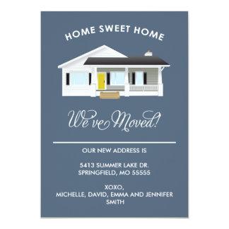 家の甘い家%PIPE%の移動発表 12.7 X 17.8 インビテーションカード