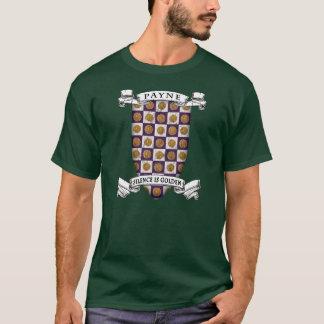 家のPayneの紋章付き外衣 Tシャツ