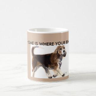 家はあなたのビーグル犬がマグであるところです コーヒーマグカップ