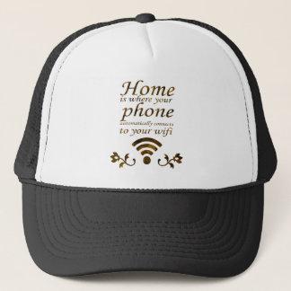 家はあなたの電話が自動的にどこにに接続するかです キャップ