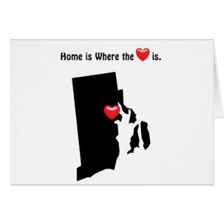 家はところハートロードアイランドです カード