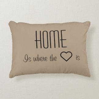 家はハートが枕であるところです アクセントクッション