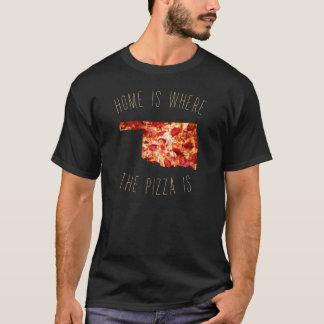家はピザがあるところです Tシャツ