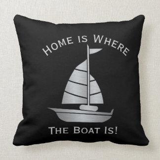 家はボートが航海のな枕であるところです クッション
