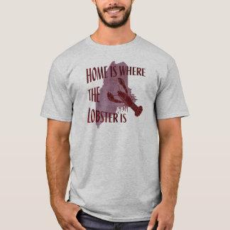 家はロブスターがあるところです Tシャツ