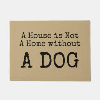 家は犬の玄関マットなしでは家ではないです ドアマット