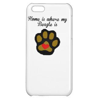 家は私のビーグル犬があるところです iPhone5C