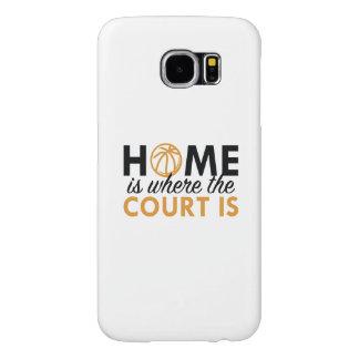 家は裁判所があるところです SAMSUNG GALAXY S6 ケース