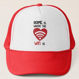 家はWIFIがあるところです キャップ