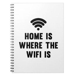 家はWifiがあるところです ノートブック