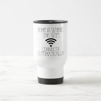 家はWiFiが自動的に接続するところです トラベルマグ