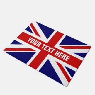 家または店のためのイギリスの英国国旗の旗のドア・マット ドアマット