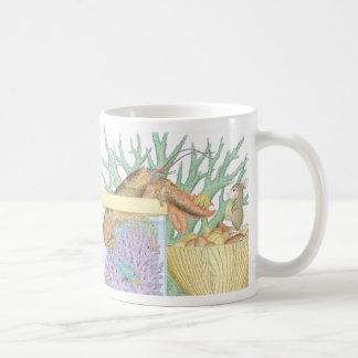 家マウスDesigns® -マグ コーヒーマグカップ