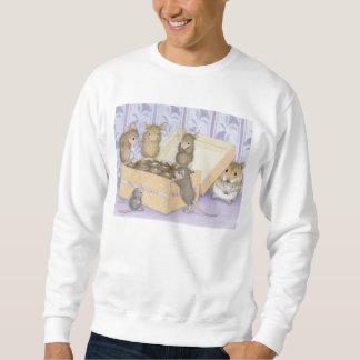 家マウスDesigns® -衣類 スウェットシャツ