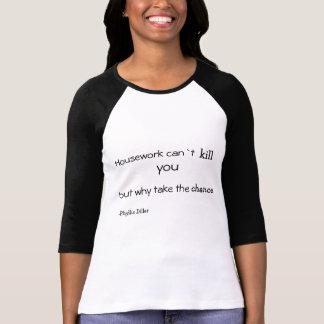 家事は` tの殺害できます! tシャツ