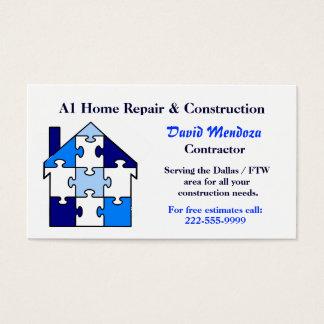 家修理及び建設業カード 名刺