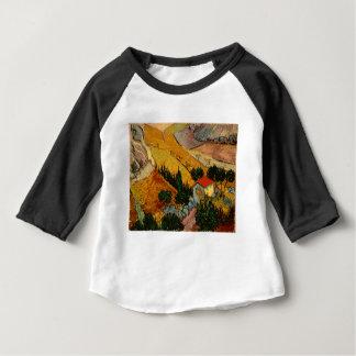家及びPloughman、フィンセント・ファン・ゴッホとの景色 ベビーTシャツ