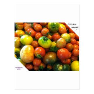 家宝のトマト ポストカード