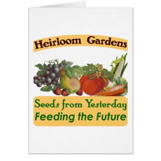 家宝は緑のことわざ庭いじりをします カード