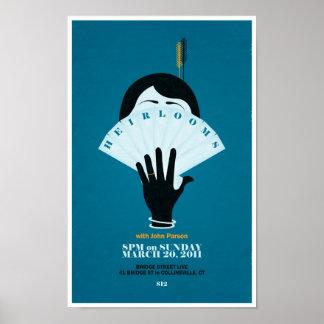 家宝- 3.20.2011 ポスター
