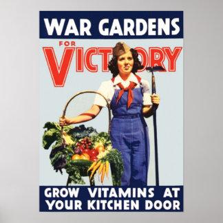 家庭菜園 ポスター