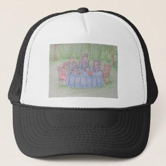 家族のピクニック キャップ