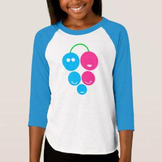 家族のフルーツのロゴ Tシャツ