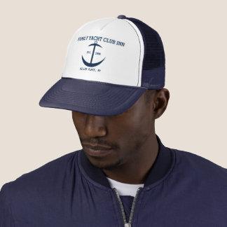家族のヨットクラブのインの帽子 キャップ