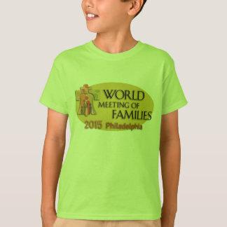 家族の世界の会合 Tシャツ