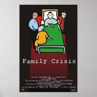 家族の危機 ポスター