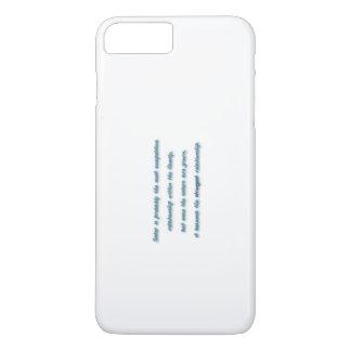 家族の引用文-姉妹はおそらくほとんどのcompe…です iPhone 8 plus/7 plusケース