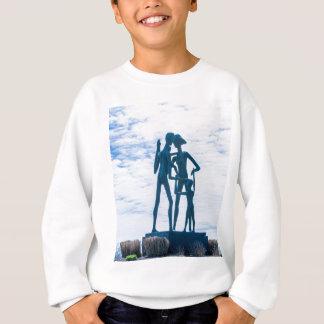 家族の彫刻 スウェットシャツ