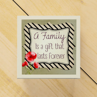 家族の感動的な引用文 フェイバーボックス