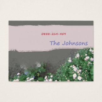 家族の接触カード 名刺