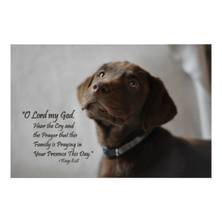 家族の祈りの言葉 ポスター