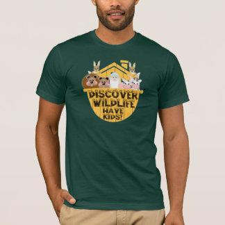 家族の野性生物 Tシャツ