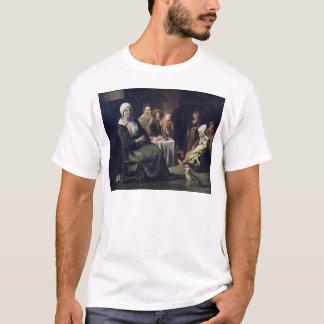 家族の食事 Tシャツ