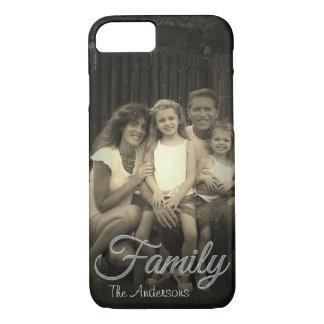 家族は名前入りな|のアップロードの写真|の上にありました iPhone 8/7ケース