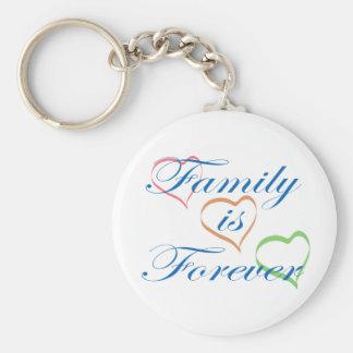 家族は永遠です キーホルダー