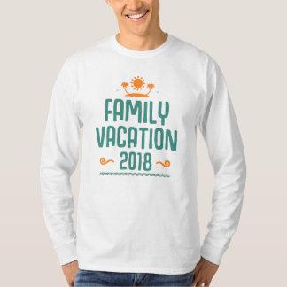 家族休暇のTシャツ2018年 Tシャツ