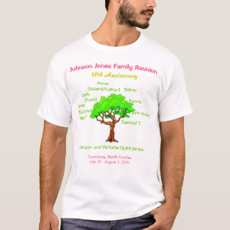 家族会(第40記念日) Tシャツ