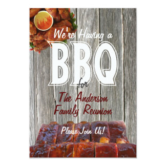 Family Reunion BBQ Party