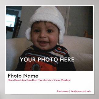 家族写真ポスター ポスター