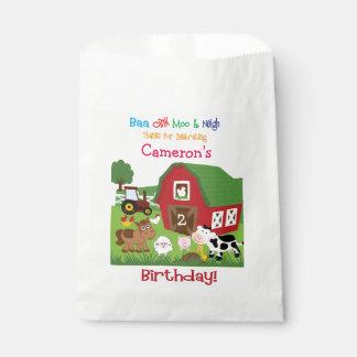 家畜の誕生日の糖菓か好意のバッグ フェイバーバッグ