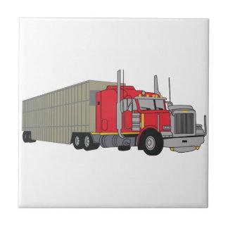 家畜はトラックで運びます タイル